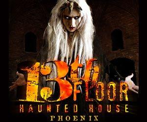 Arizona haunted houses your guide to halloween in arizona for 13th floor scottsdale az