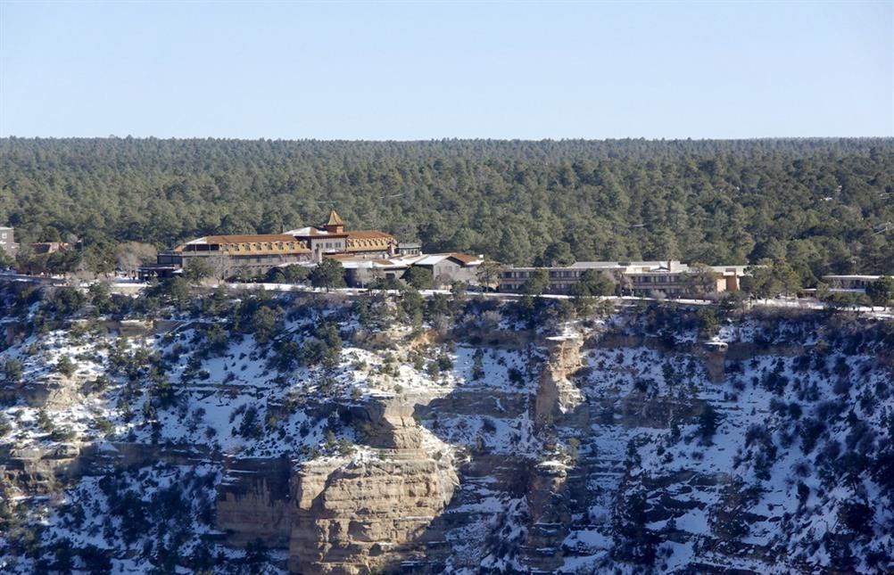 El tovar hotel grand canyon village arizona real for El tovar grand canyon
